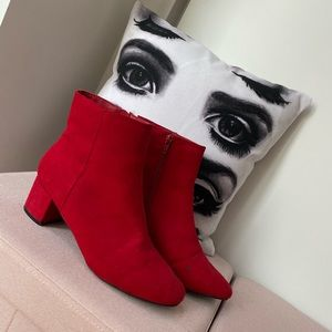 Forever 21 Red Boots